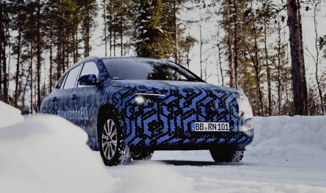 Why Mercedes-Benz delays the arrival of the EQA electric SUV for 2021?