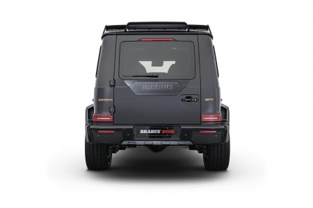 Brabus 800 Black and Gold Edition Mercedes-AMG G 63 (18)