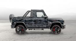Mansory created the Star Trooper pick-up out of a Mercedes-AMG G63