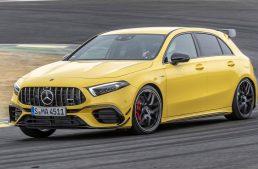 Mercedes-AMG A45 S 4MATIC+ faster than the Lamborghini Murcielago