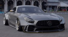 While waiting for the Black Series, a digital render shows just how mean the Mercedes-AMG GT R can look