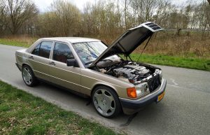 Extreme: perfectly street legal Mercedes-Benz 190 powered by a 6.0 liter V12 from 600 SEL