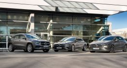 Mercedes-Benz CLA Coupé, CLA Shooting Brake and GLA plug-in hybrid. Compacts now with EQ Power