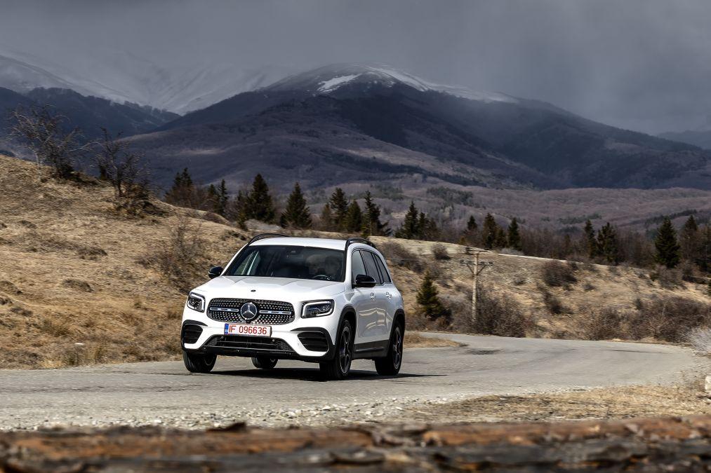 Test drive Mercedes-Benz GLB 250 4Matic – G-Class Show-Off