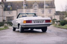 Goodbye, V8! This is the world's first electric classic Mercedes-Benz SL
