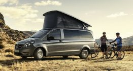 Revamp for the Mercedes-Benz Marco Polo Activity camper van
