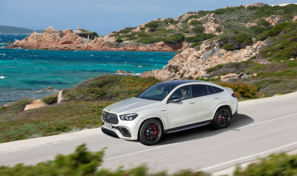 Officially official: Mercedes-AMG GLE 63 and GLE 63 S Coupe with up to 612 horsepower