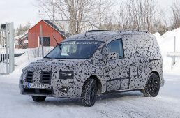 All-new 2021 Mercedes Citan van caught for the first time