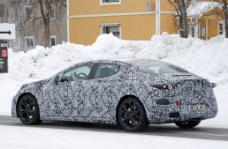 The new Mercedes EQE as a rival for Tesla Model S