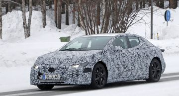 Electric E-Class revealed: Mercedes EQE caught for the first time