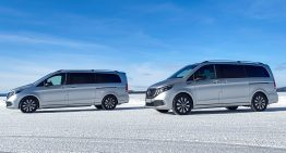 Mercedes-Benz EQV testing under extreme conditions in Sweden, will be launched this Summer