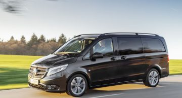 Mercedes-Benz renovates the Vito and eVito Tourer working horses