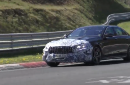 Video: 2020 Mercedes-AMG E 63 facelift spied on the Nurburgring
