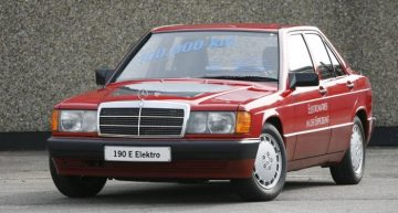 Back where electromobility started – These are some of the first electric Mercedes-Benz models