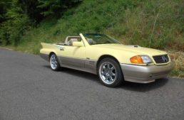 How a Mercedes-Benz SL and a Cadillac Eldorado became a… Benzillac
