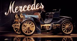 Mercedes, the only female name of a car brand. It began 120 years ago