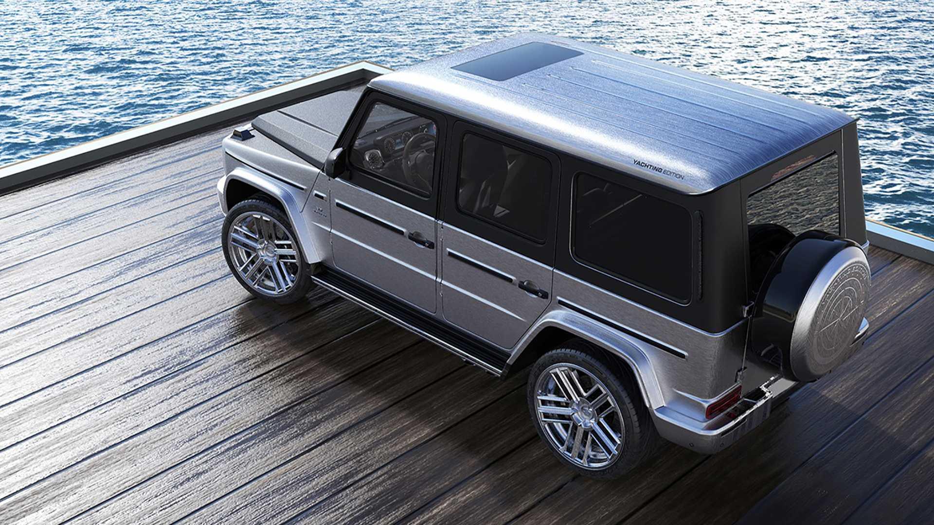 Mercedes Amg G63 Gets All Wood Interior By Carlex Design