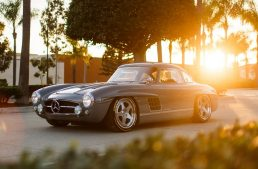 Someone actually cloned a Mercedes-Benz 300 SL Gullwing. And it looks spectacular!