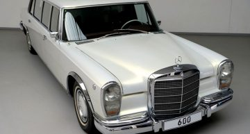 1975 Mercedes-Benz 600 Pullman for sale for $2.3 million. Details that might make you believe it's a bargain