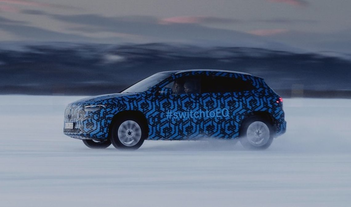 Mercedes-Benz EQA will be the smallest model in the Mercedes-Benz EQ range