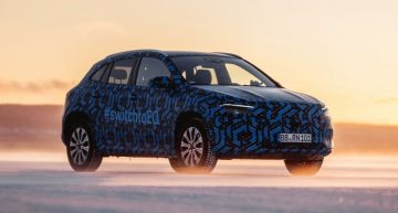 New photos with Mercedes-Benz EQA 2020