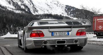 Lockdown catch – Mercedes-Benz CLK GTR Number 8 of 25 was seen rolling in Switzerland