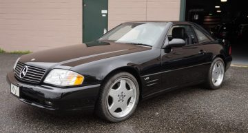 2001 Mercedes-Benz SL600 almost new for sale