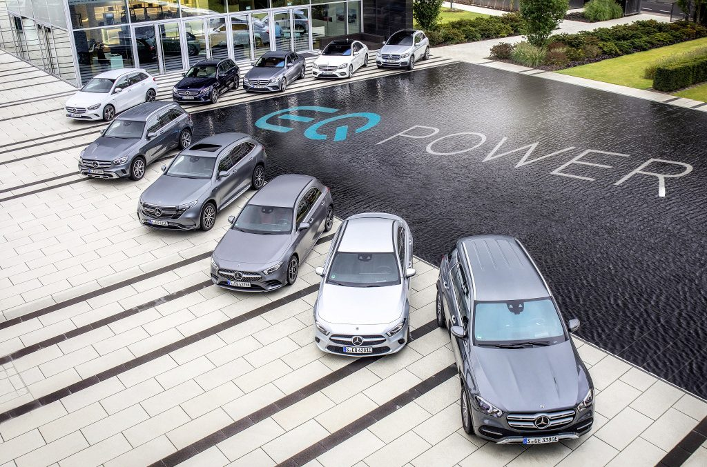 Mercedes Plug-In Hybrid offensive: 20 models available in 2020