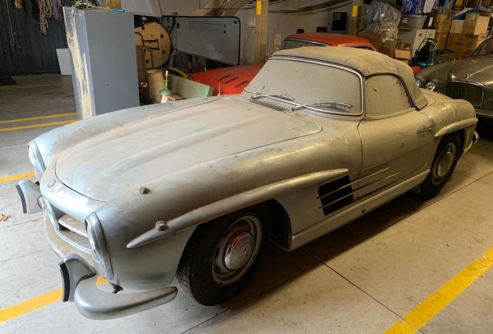 Barn find: 1960 Mercedes-Benz 300SL Roadster resurfaces after forty years