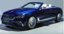 Hofele Design: Mercedes-AMG E 53 Cabriolet with Maybach aspirations