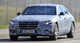 2021 Mercedes S-Class Guard spied for the first time