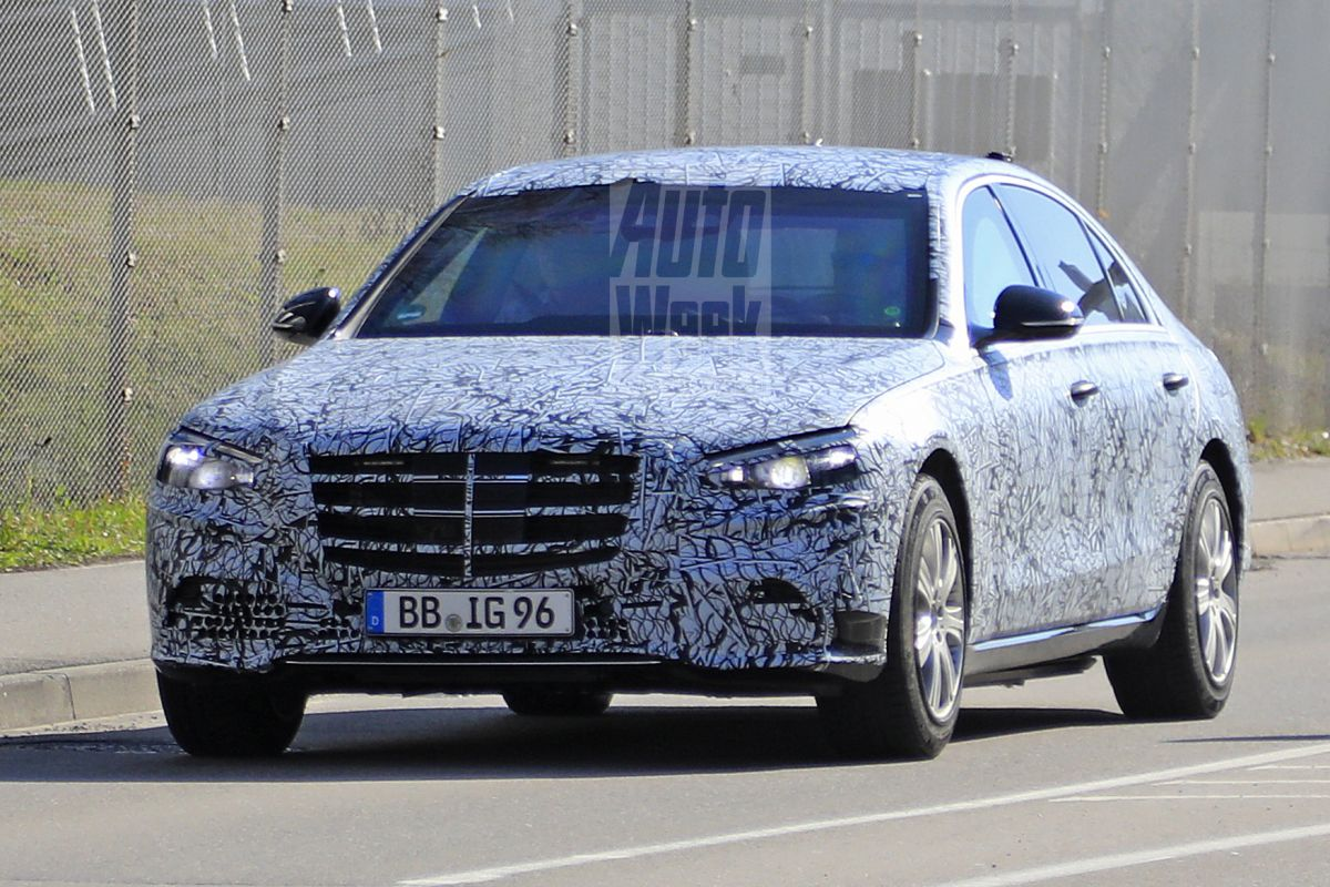 2021 Mercedes S-Class Guard spied for the first time ...