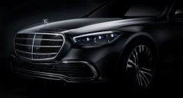 Mercedes confirms 100 km of electric range for the new Mercedes S-Class PHEV W223