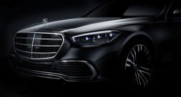 First official photo of the new Mercedes S-Class W223 and new details about the interior (with video)
