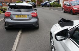 He bought a Mercedes-AMG A 45. Police seized the car when he was going home from the dealership