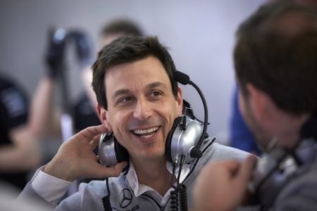 Mercedes-AMG Petronas Formula One doctor from NASA Toto Wolff