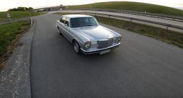 He drove a Mercedes-Benz 280 E along the autobahn at over 200 km/h. How did it feel?