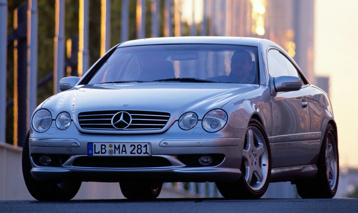 The Mercedes-Benz CL 55 AMG F1 Limited Edition was all about performance 20 years ago