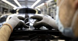 Restart. Mercedes-Benz is slowly returning to normal resuming production