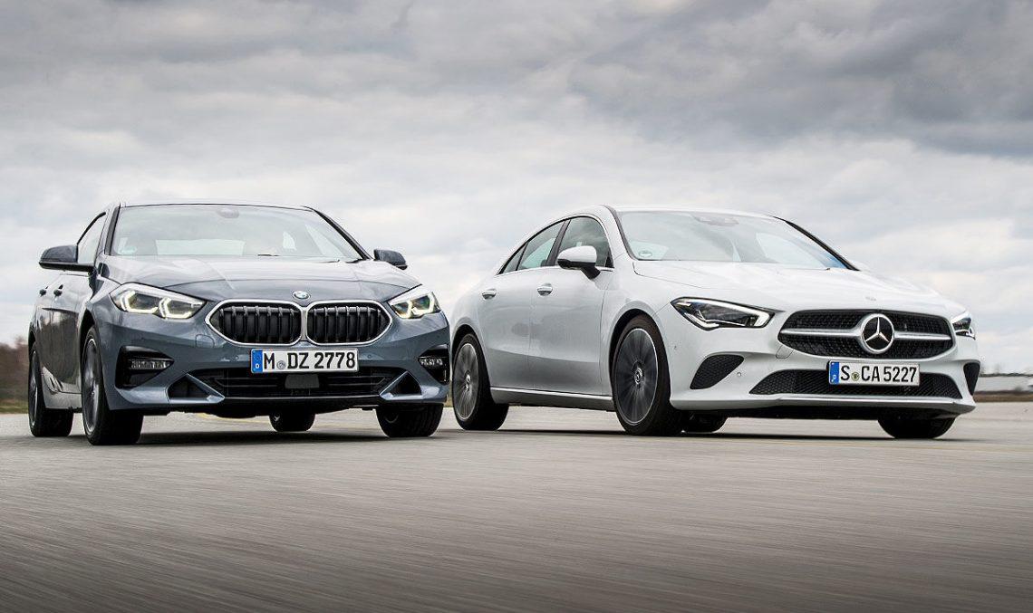 Test Mercedes CLA vs BMW 2 Series Gran Coupe: Premium basics. It is enough?