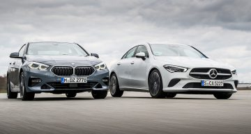 Test Mercedes CLA vs BMW 2 Series Gran Coupe: Premium basics. It is enough?