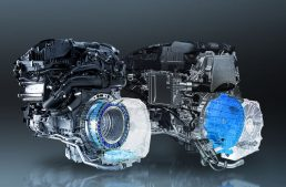 New Mercedes four cylinder engine M254 and OM654 M with ISG and 48V system