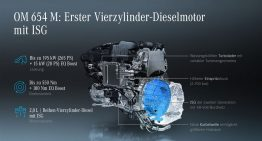 New engines: Mercedes C 220 d and Mercedes C 200 d with single turbo