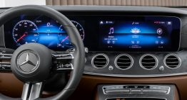 The interior of the future Mercedes-Benz E-Class Coupe and Cabriolet shown ahead of the official reveal