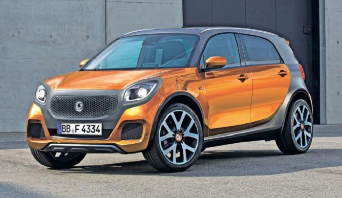 smart SUV: Produced in China by Geely, designed by Mercedes