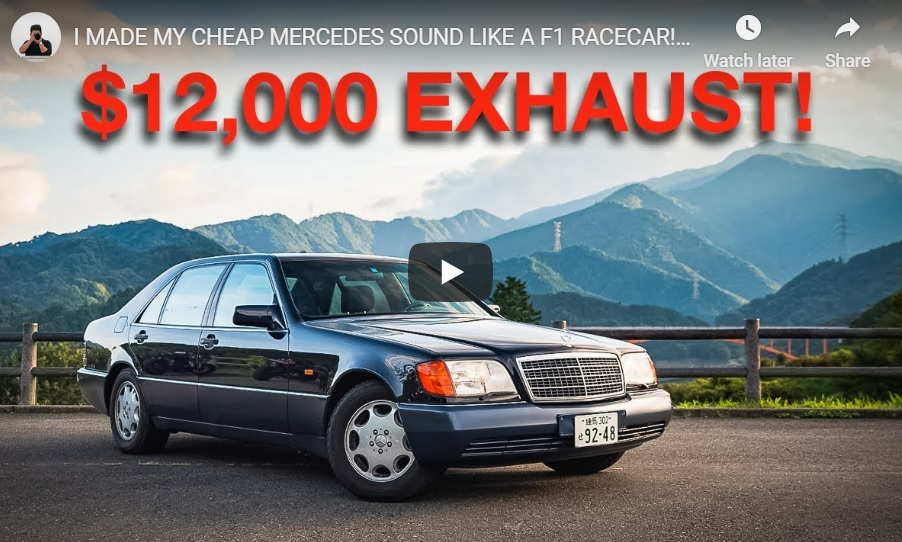 Gordon Cheng makes the S-Class sound like an F1 car