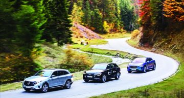 Comparison test Mercedes EQC vs Jaguar I-Pace, Audi e-tron: the electric dream