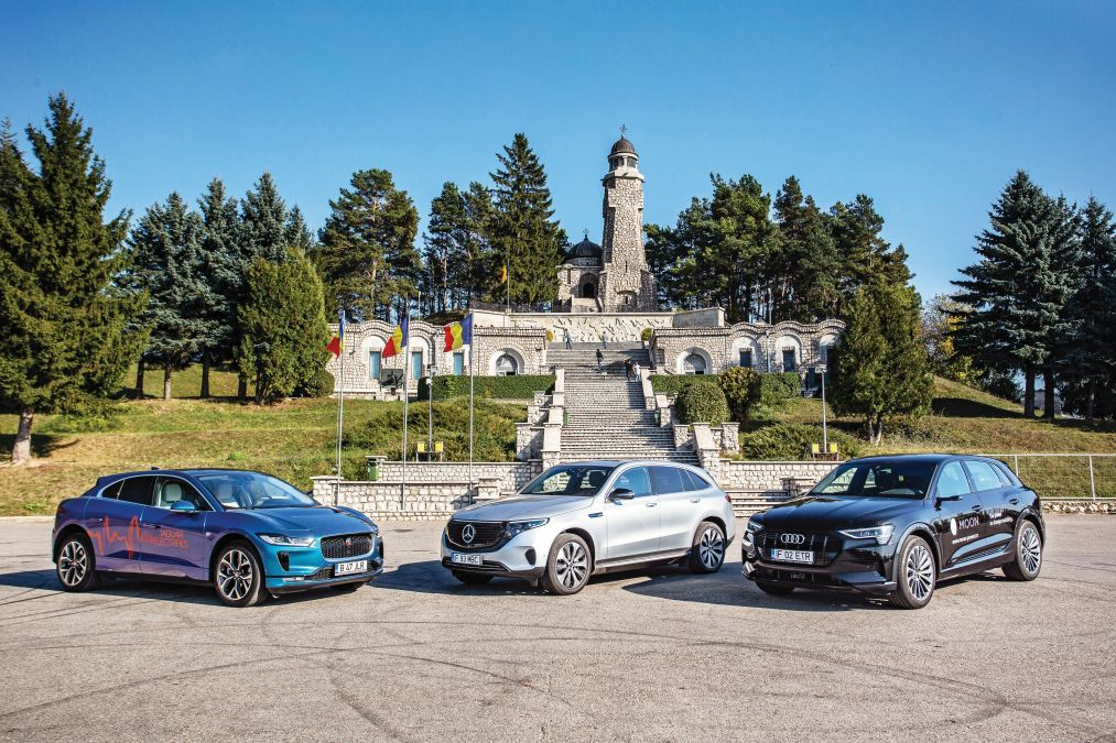 comparison test Mercedes EQC, Jaguar I-Pace, Audi e-tron