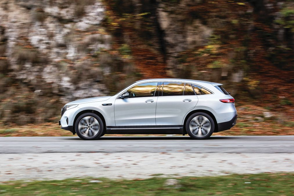 comparison test Mercedes EQC