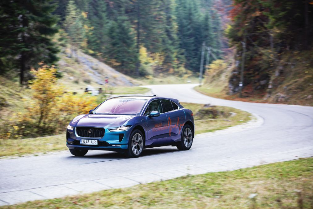 comparison test Jaguar I-Pace
